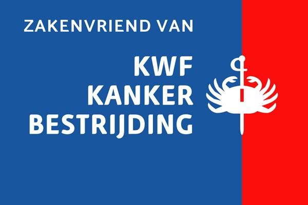 Rodi samen met KWF tegen kanker