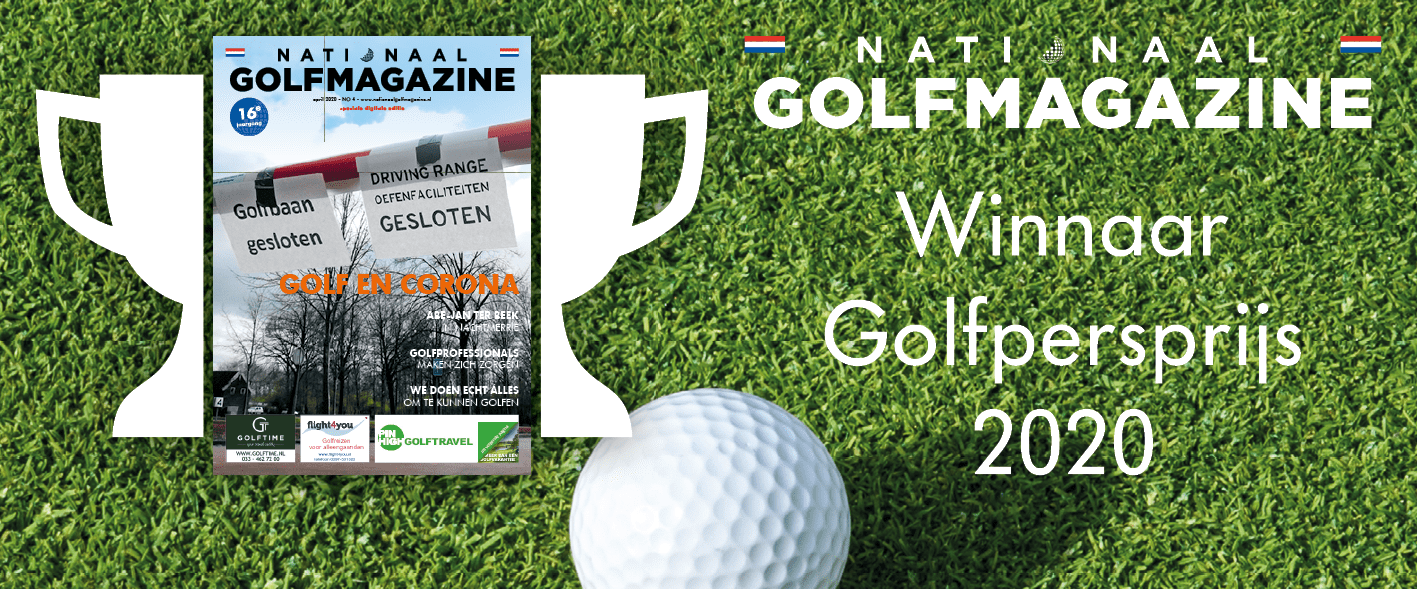 Nationaal Golfmagazine wint Golfpersprijs 2020
