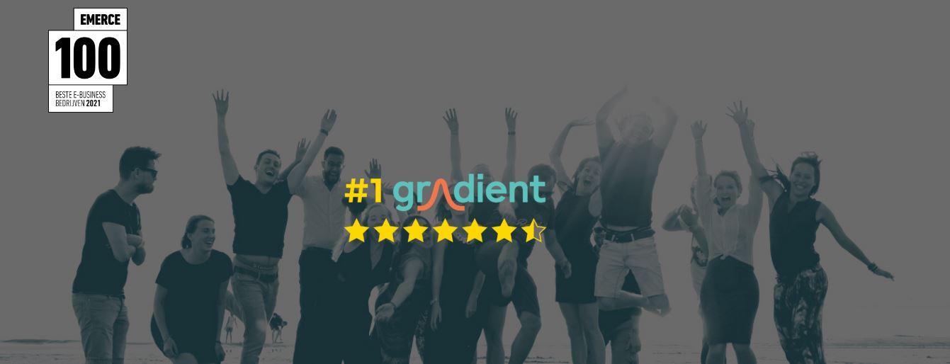 Rodi Media feliciteert Gradient met 'Beste Digitale Marketingbureau van 2021'